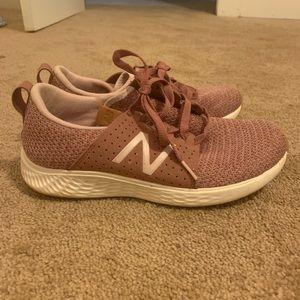 Pink New Balance Tennis Shoes